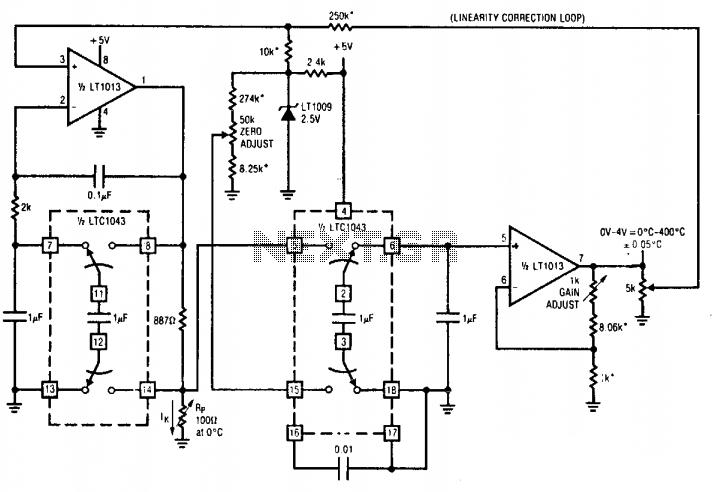 Precision RTD signal conditioner under Thermometer