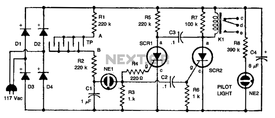 heartbeat sensor heart beat sensor circuit diagram circuits