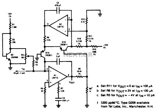small resolution of logarithmic amplifier