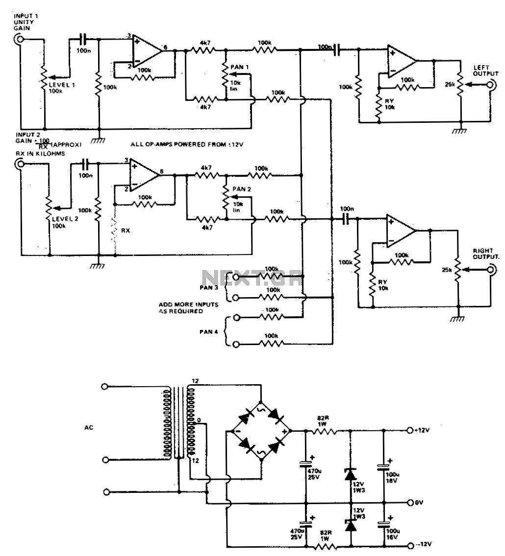 hight resolution of audio mixer circuit audio circuits next gr stereo mixer circuit audio mixer circuit diagram