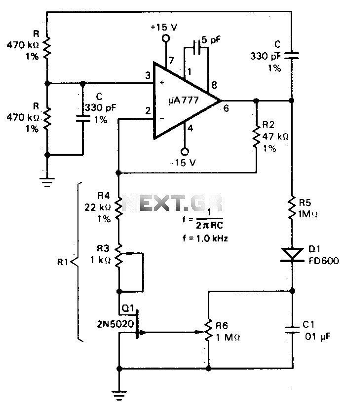 > audio > oscillators > wien bridge oscillator l12506