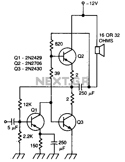 > audio > amplifiers > Direct coupling audio power
