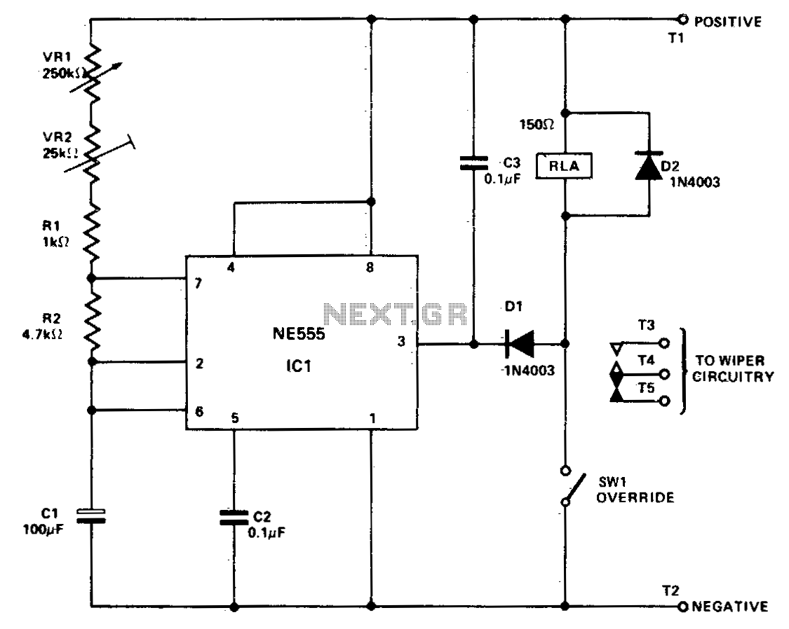 dpdt relay wiring diagram normal open