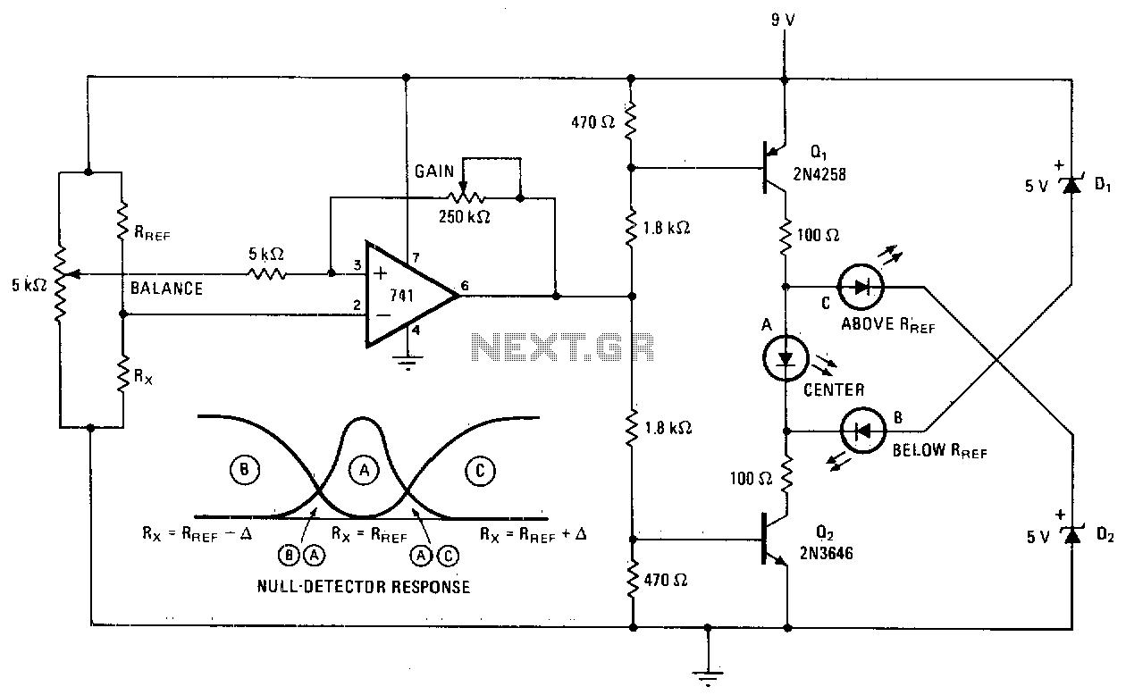 Comparator Circuit Sensors Detectors Circuits Next