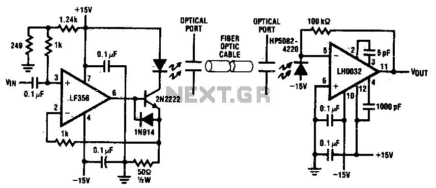 Fiber Optic Receiver Block Diagram Wiring Diagrams
