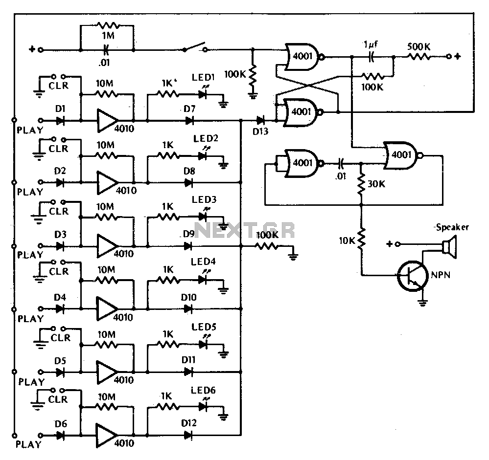 game electronic circuit : Other Circuits :: Next.gr