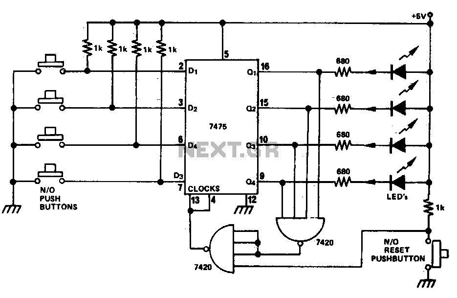 Quiz Buzzer Circuit