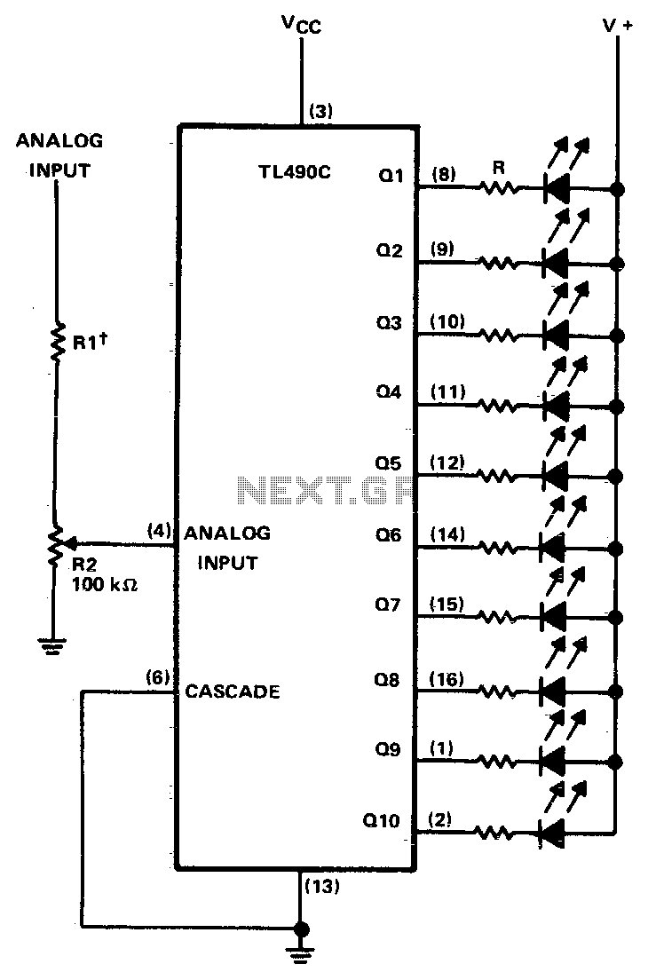 circuit using a visual indicator can be useful for an rf indicator