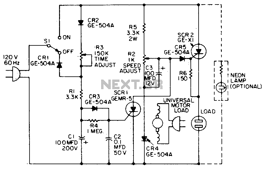 Universal motor control under Motor Control Circuits