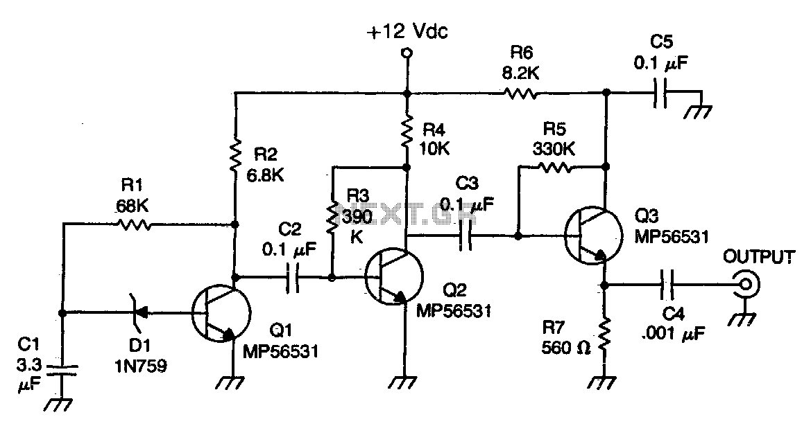 audio effect circuit : Audio Circuits :: Next.gr