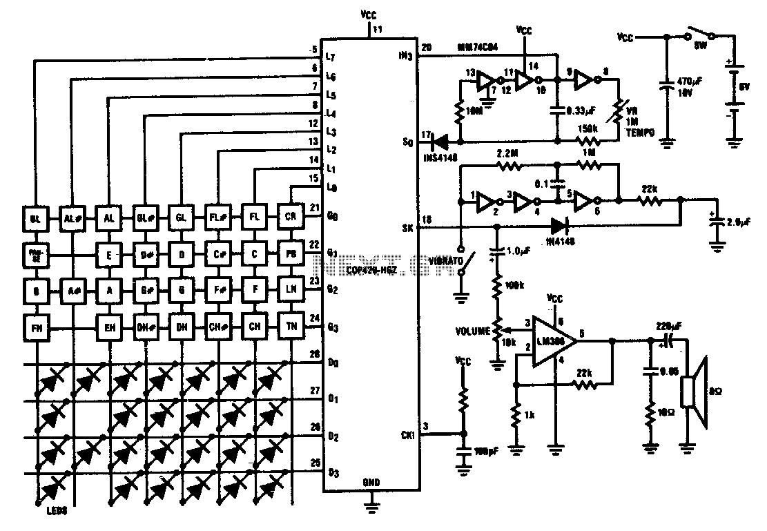 Audio Effect Circuit Audio Circuits Next
