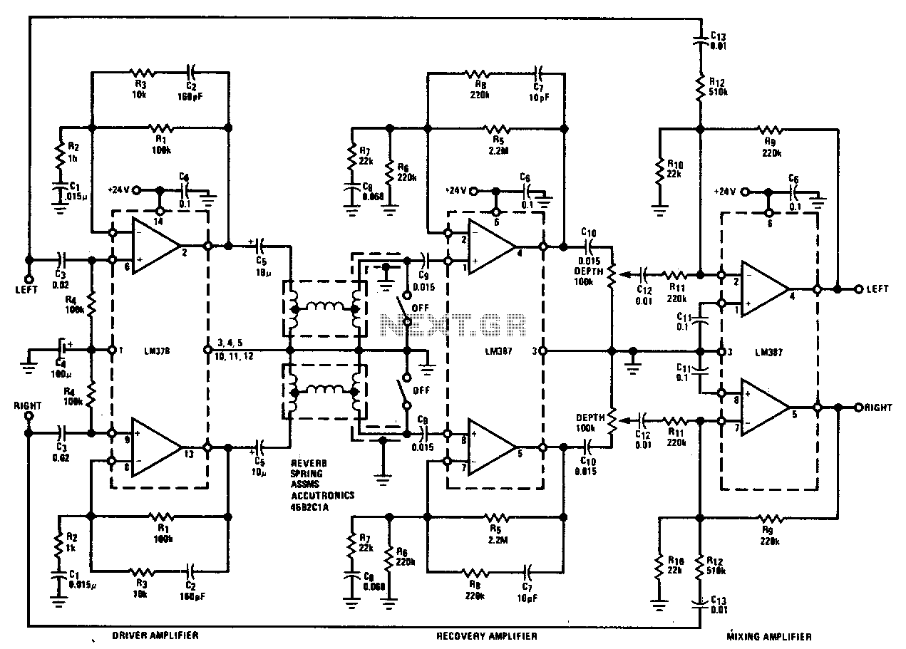 audio effect circuit : Audio Circuits :: Next.gr
