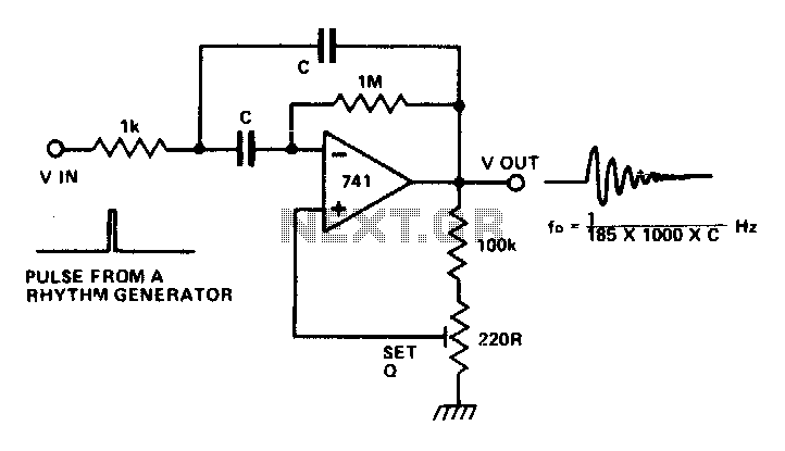 Musical chime generator under Musical & Effects Circuits