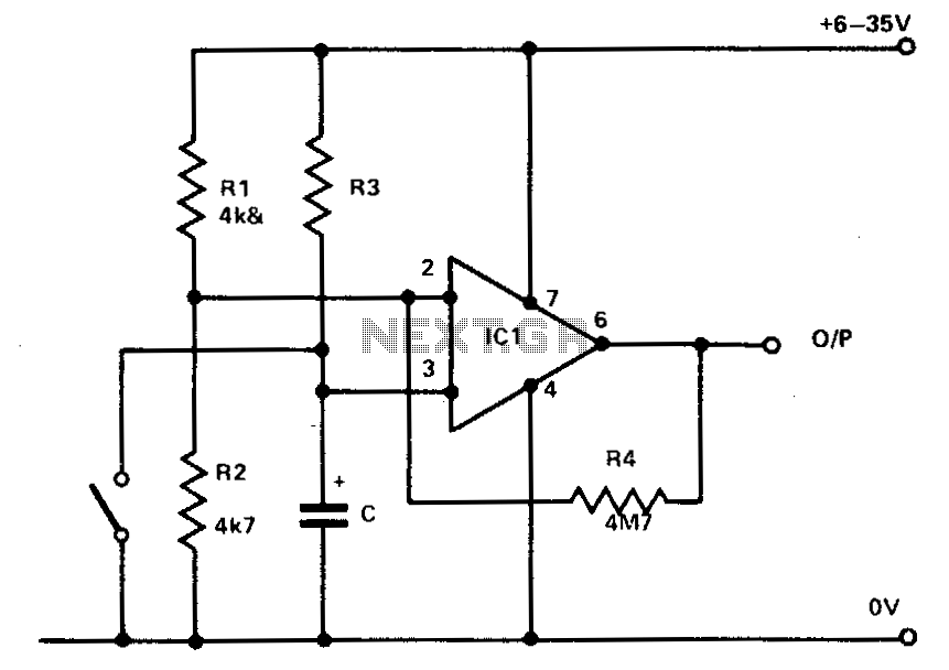 timer circuit : Meter Counter Circuits :: Next.gr