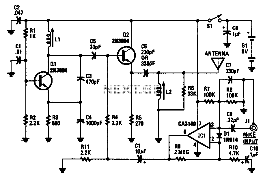 am radio circuit : RF Circuits :: Next.gr