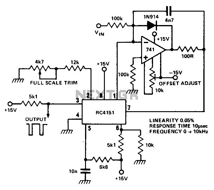 volt control circuit : Oscillator Circuits :: Next.gr