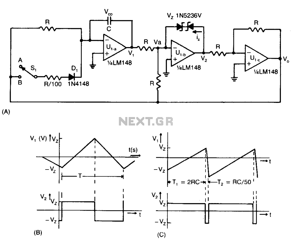 medium resolution of adjustable function generator schematic