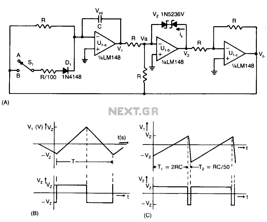 hight resolution of adjustable function generator schematic