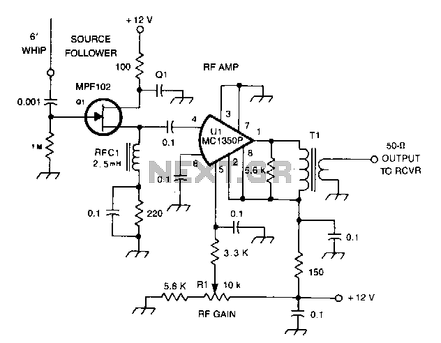 active antenna with gain booster