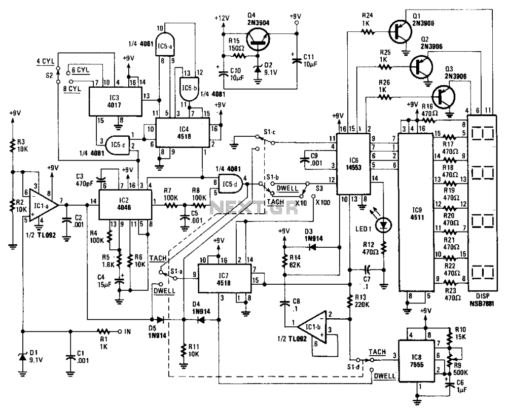 medium resolution of dc to ac generator wiring diagram tachometer