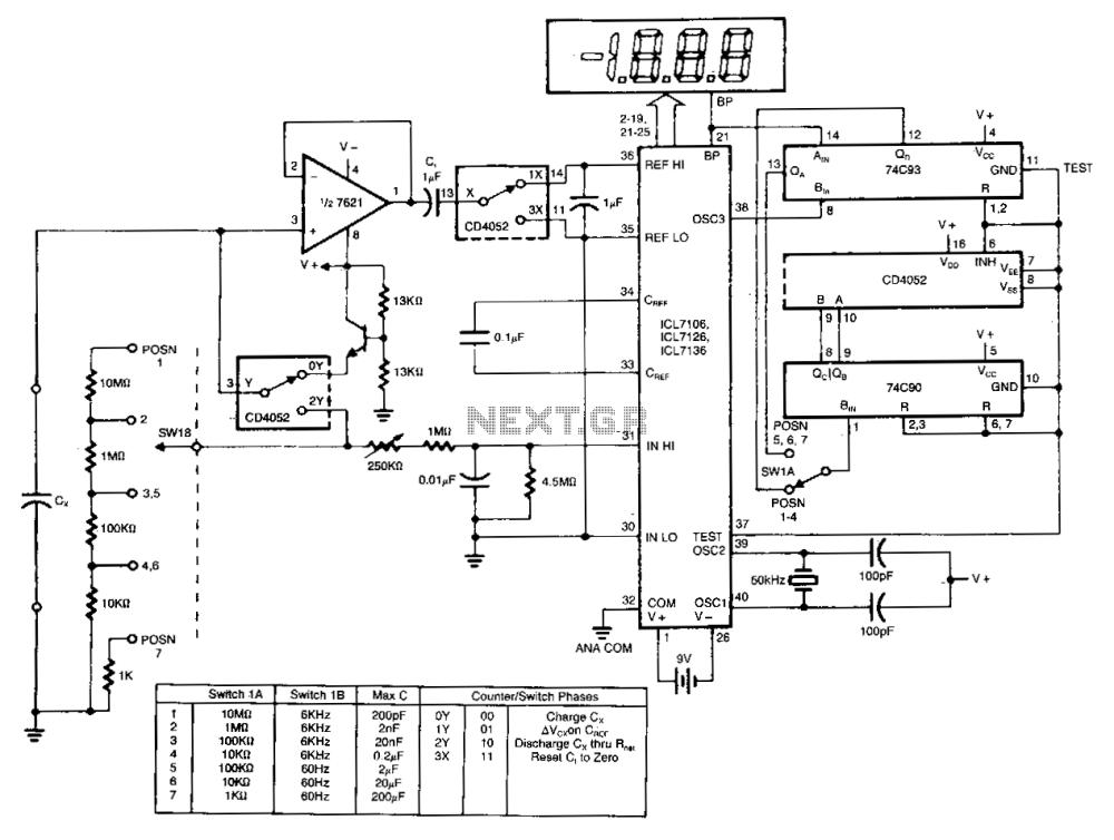 medium resolution of digital ad capacitance meter