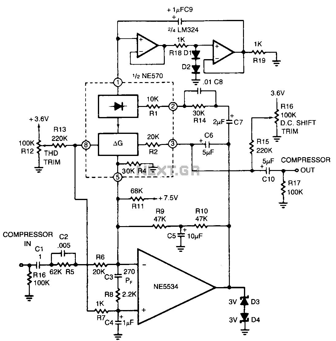 metal detector circuit Page 3 : Sensors Detectors Circuits