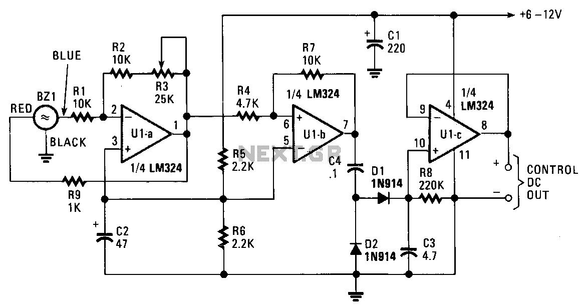 > digital > decoder circuits > sound activated decoder