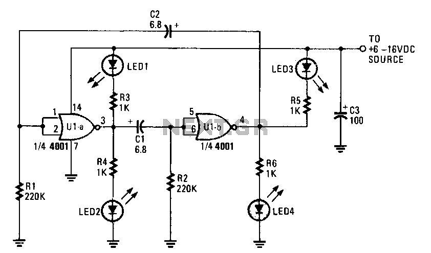 led circuit : Light Laser LED Circuits :: Next.gr
