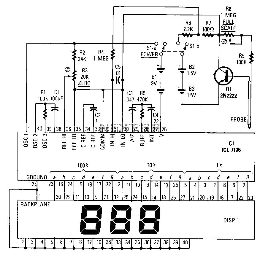 Soil-moisture-meter under Air-Gas Detection Circuits
