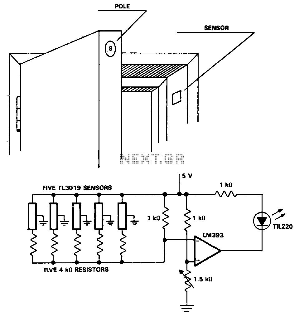 magnetic door sensor wire diagram 4