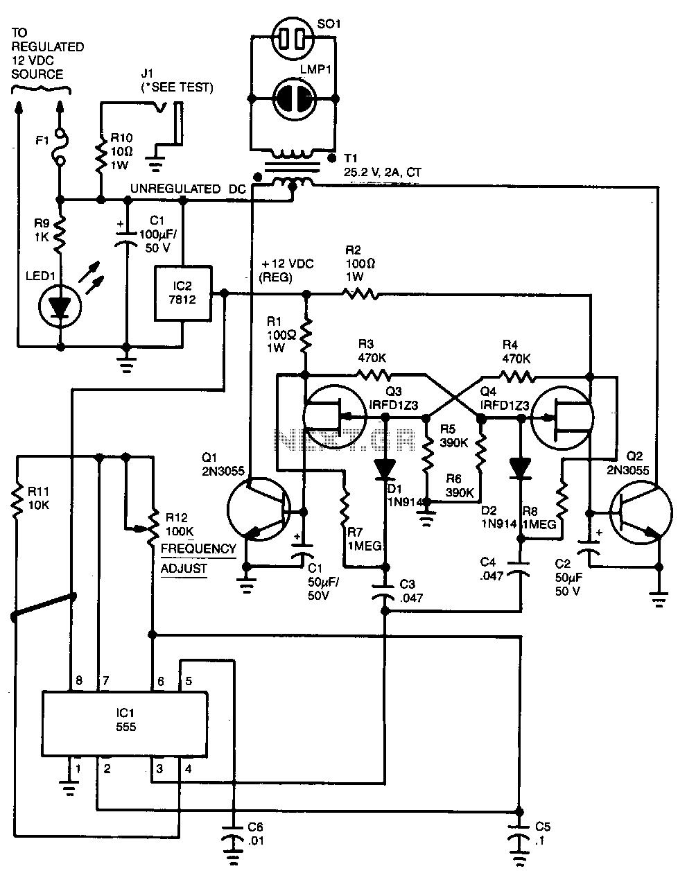 1000 watt inverter circuit diagram pdf