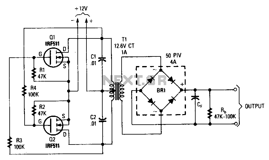 inverter circuit : Power Supply Circuits :: Next.gr