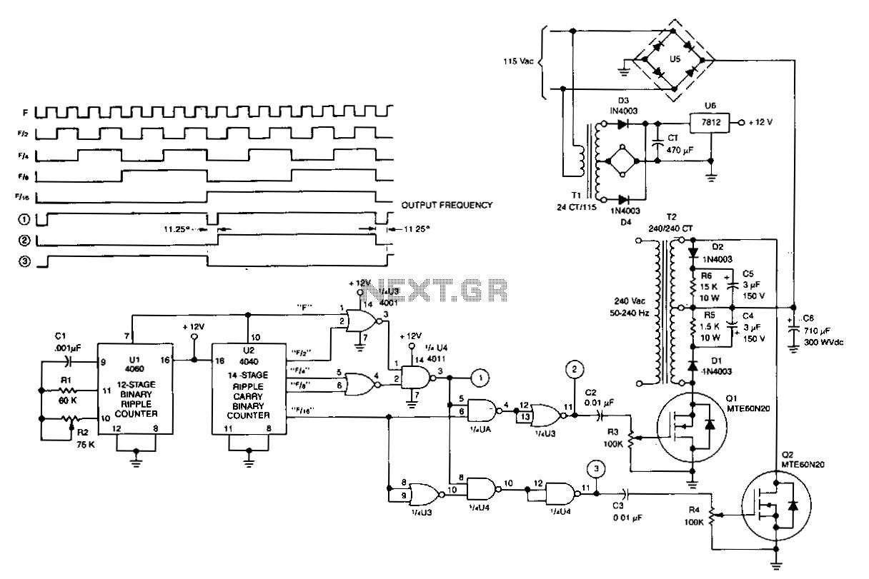 300w inverter circuit diagram