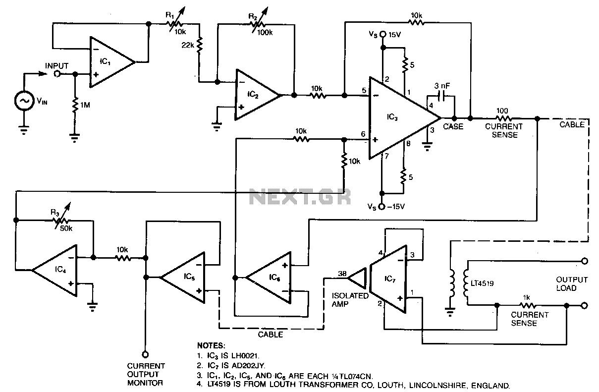 Medical Circuit Sensors Detectors Circuits Next