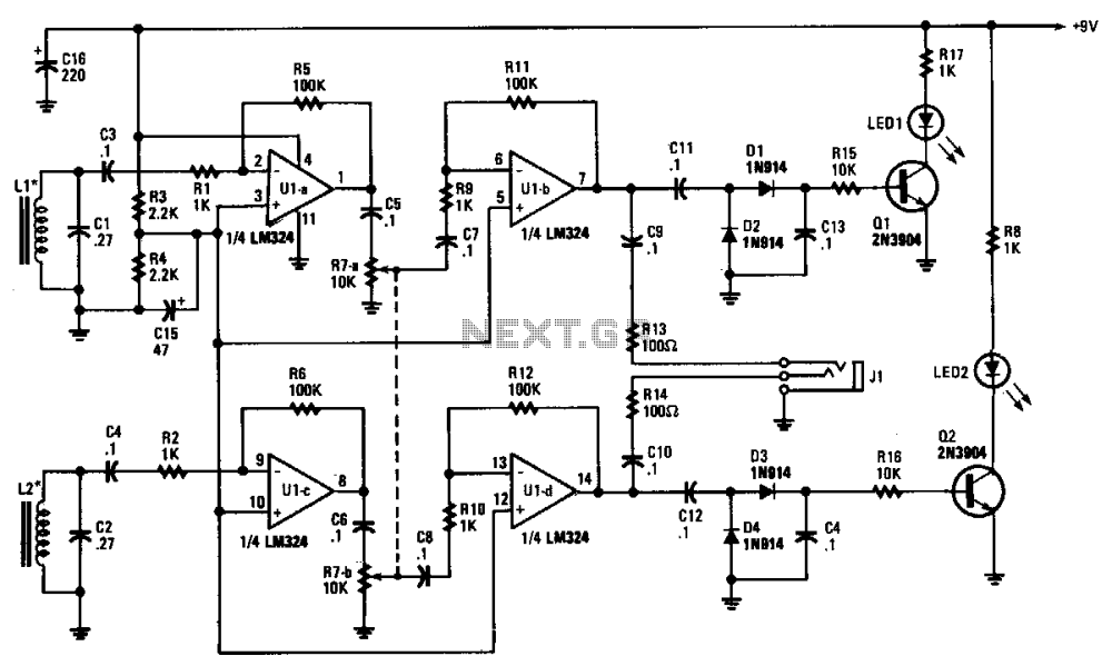 medium resolution of wire tracer receiver circuit diagram wiring diagram priv schematic electrical circuit tracer