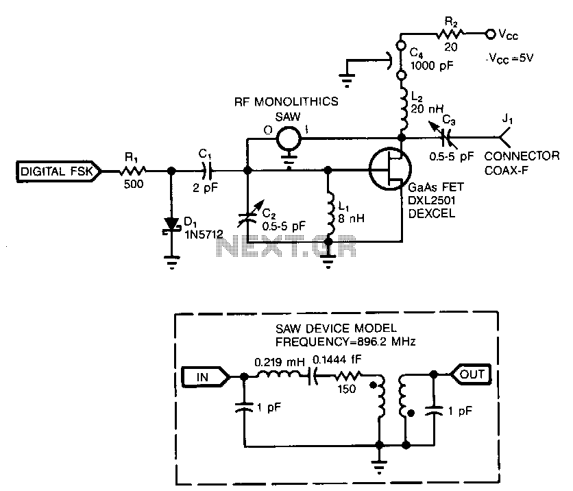 video modulator circuit : Video Circuits :: Next.gr