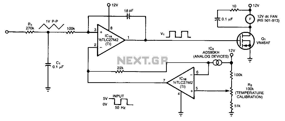 automatic fan speed regulator