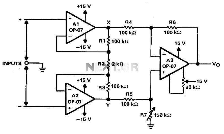 > audio > amplifiers > simple differential amplifier