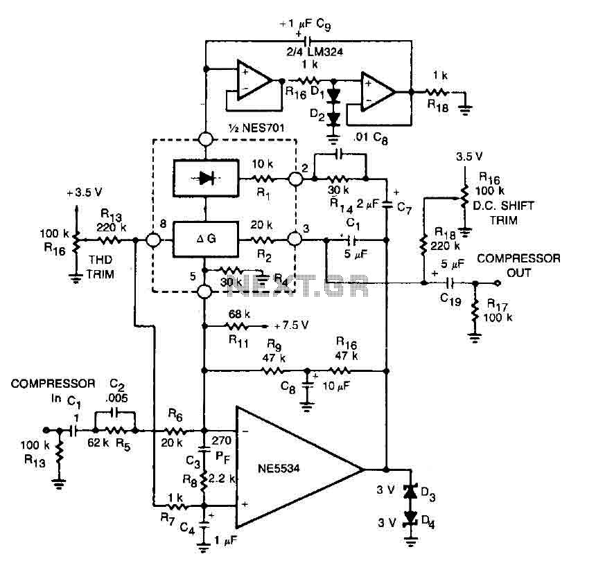 High fidelity amplifier circuit : Audio Amplifier Circuits