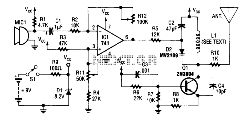 555 timer circuit : Other Circuits :: Next.gr
