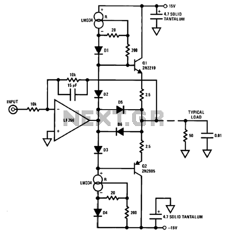200mA 12V Op Current Gain Stage under Repository-circuits