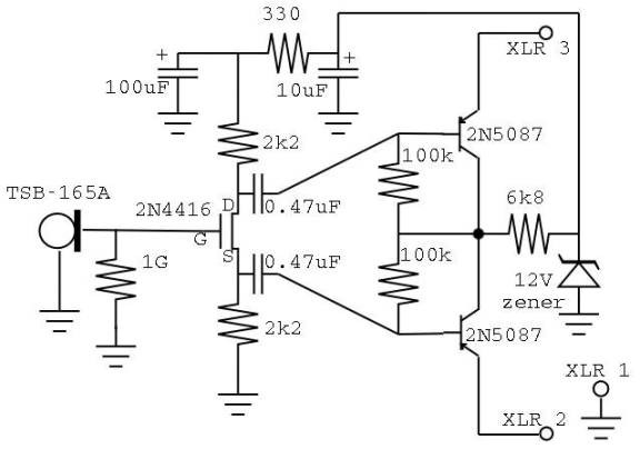 microphone circuit : Audio Circuits :: Next.gr