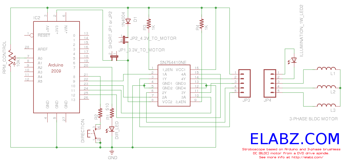 l293d motor driver circuit diagram er for chat application > circuits brushless dc with arduino l24955 - next.gr