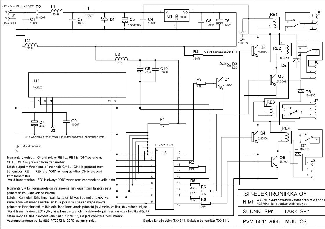 4 Mhz Metal Detector Circuit Fig 1 Simple Bfo Schematic Diagram
