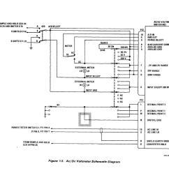 ac dc voltmeter schematic diagram  [ 1209 x 956 Pixel ]