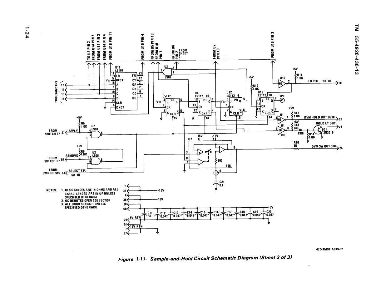 Sample And Hold Circuit Schematic Diagram 3 Under