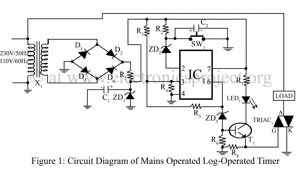 Intermatic T104 Timer Wiring Diagram Intermatic T104