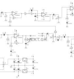 car audio amplifier circuit electro schematics  [ 1235 x 802 Pixel ]