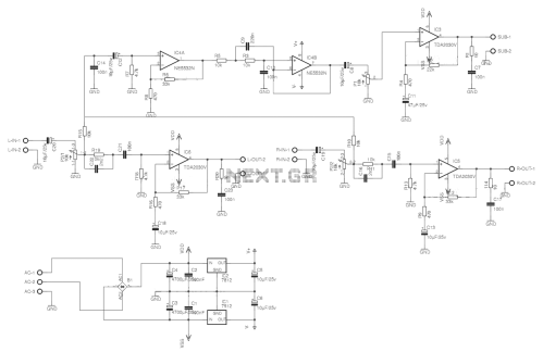 small resolution of car audio amplifier circuit electro schematics