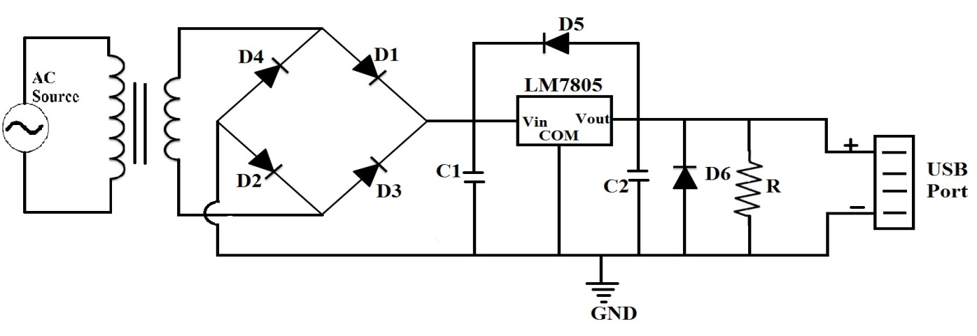 5v usb power supply circuit under Repository-circuits